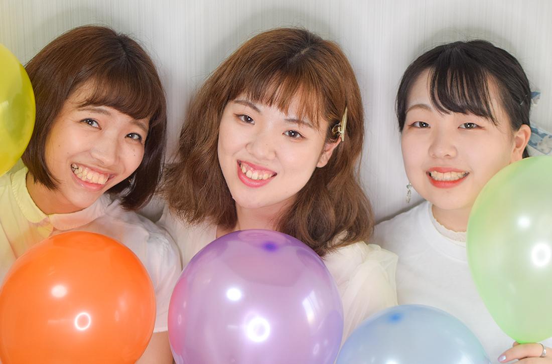 弊社所属女性グループYouTuber「笑う花には福きたる」の新メンバーオーディションを開催!